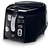 De'Longhi 2.2 lb Cool-Touch Roto Deep Fryer - Black