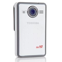 Toshiba Camileo Clip 1080p HD Camcorder with Image Stabilization 4GB SDHC Card and Software