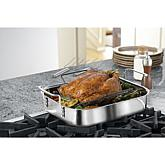"Calphalon Tri-Ply 14"" Stainless Steel Roaster Set"