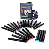 Spectrum Noir 24-piece Marker Set with DVD - Floral