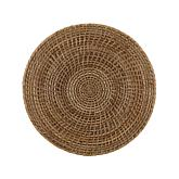 The French Chefs Rattan Round Placemat