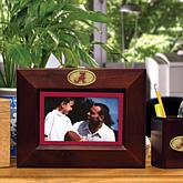 Landscape Brown Picture Frame- College