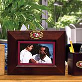 Landscape Brown Picture Frame - NFL