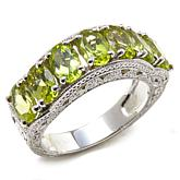 Generations® 1912 Gemstone Sterling Silver Band Ring