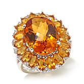 Colleen Lopez 12.19ct Gem and White Zircon Ring