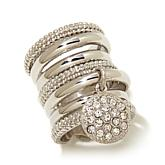 """Emma Skye Jewelry Designs """"Hit Refresh"""" Ring with Charm"""