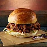 ROWDYDOW bbQ 4 lbs. Fully Cooked Smoked Pulled Pork