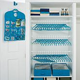 JOY Huggable Hangers® 100-piece Closet and Storage Makeover Set