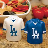 MLB Ceramic Salt and Pepper Shakers