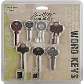 Tim Holtz Idea-Ology Word Keys - Set of 7