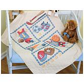 Dimensions Baby Hugs Quilt Stamped Cross-Stitch Kit