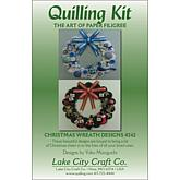 Lake City Craft Quilling Kit - Christmas Wreaths