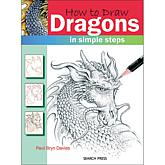 "Search Press Books ""How To Draw: Dragons"""