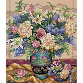 Dimensions Gold Collection Counted Cross Stitch Kit— Floral