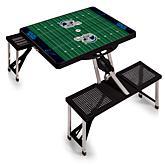 Picnic Time Picnic Table Sport - Carolina Panthers