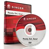 Singer® Ready, Set, Sew! Instructional DVD