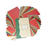 Anna Griffin® Holiday Metallic Layers & Borders Cardstock