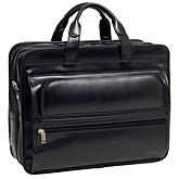 "Elston 17"" Leather Laptop Case"