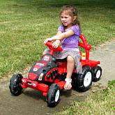 Lil' Rider™ The King Tractor and Trailer