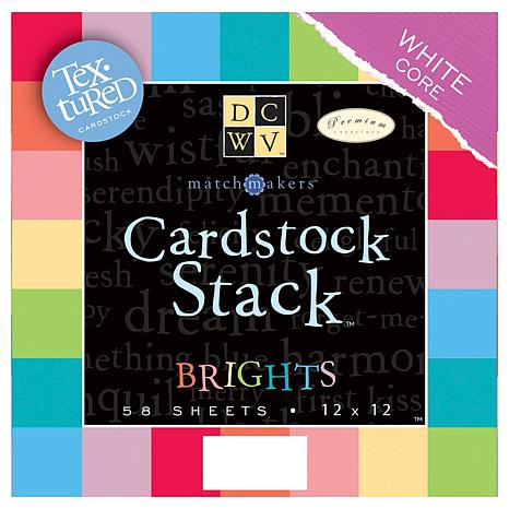 DCWV Match Maker 12x12 Cardstock Stack