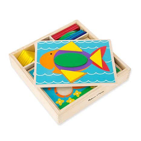 Melissa & Doug - Beginner Pattern Blocks [MD528] - $22.49 : All
