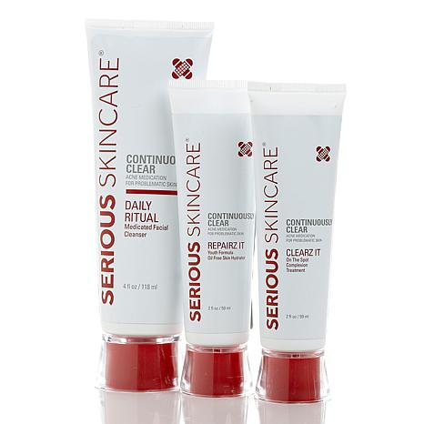 Serious Skincare Continuously Clear Trio Youth AS