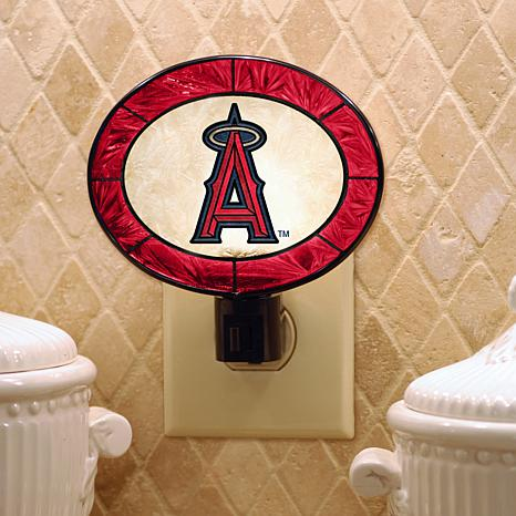 Team Glass Nightlight - Anaheim Angels
