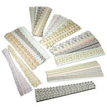 Anna Griffin® Lace Border 96-piece Sticker Kit