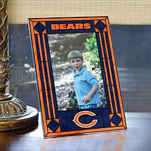 Art Glass Team Photo Frame - Chicago Bears - NFL