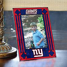 Art Glass Team Photo Frame - New York Giants - NFL