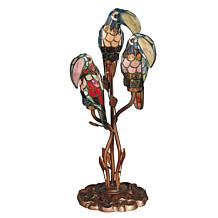 Dale Tiffany Three Parrots Accent Lamp
