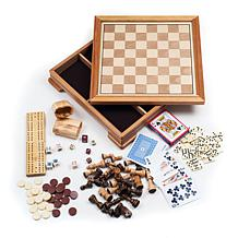 Deluxe 7-in-1 Game Set - Chess & Backgammon