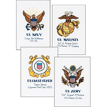 Dimensions Counted Cross Stitch Kit - Military Pride