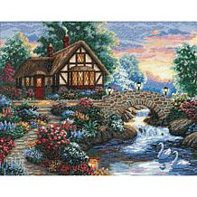 Dimensions Gold Cross Stitch Kit - Twilight Bridge