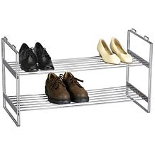 Household Essentials 2-Tier Shoe Rack