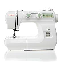 "Janome 2212 Mechanical Sewing Machine with 1/4"" Seam Fo"