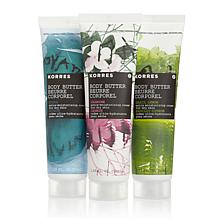 Korres Classic Body Butter 3pc Set