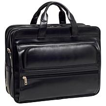 McKlein Elston 17in. Leather Laptop Case