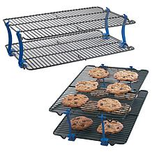Nordic Ware Set of 2 Stackable Cooling Racks