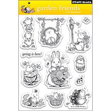 Penny Black Clear Stamps Sheet - Garden Friends